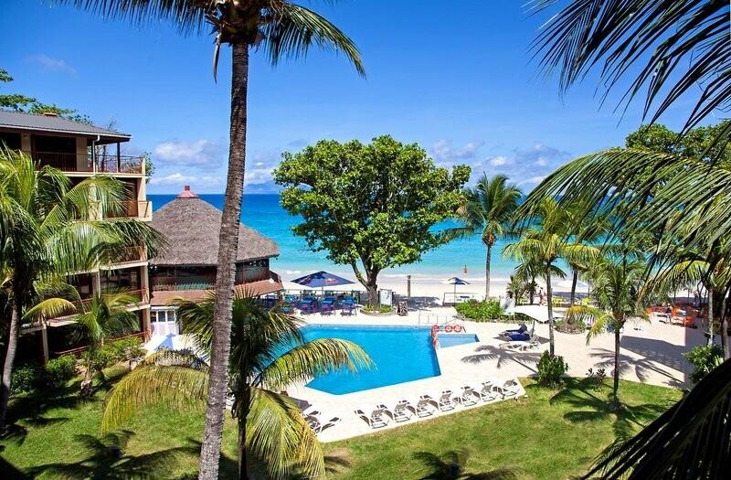 Sejšeli, Beau Vallon, Coral Strand Hotel