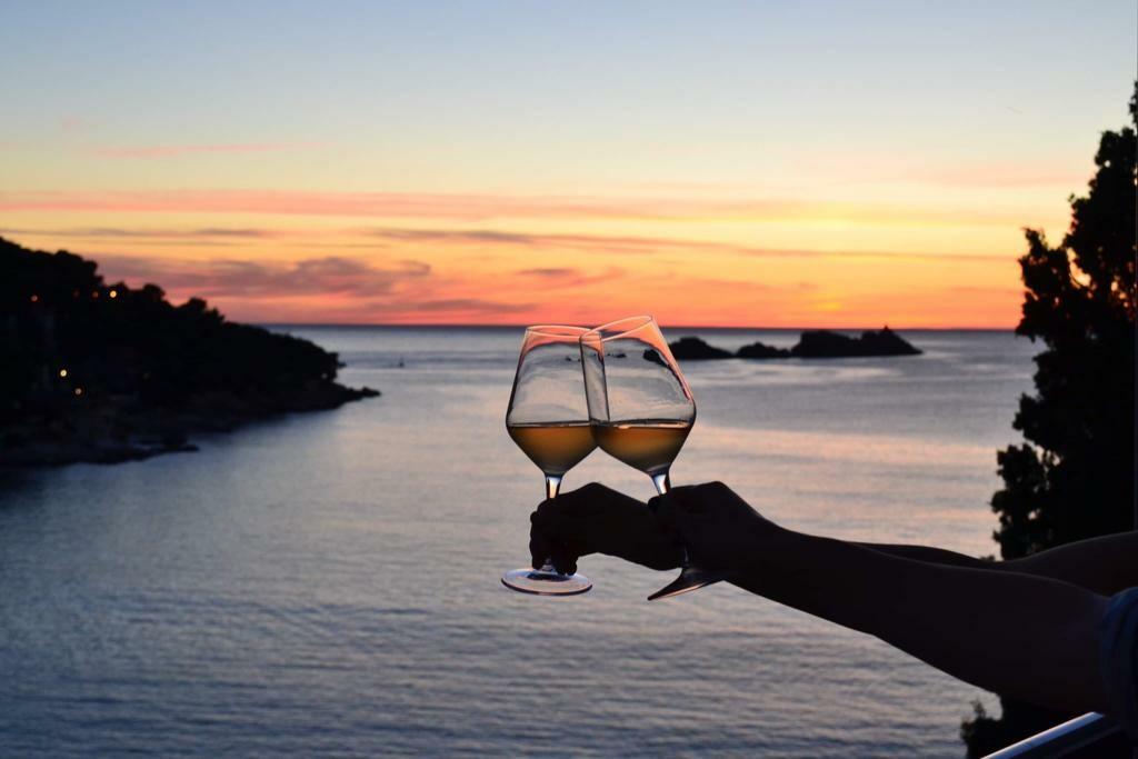 Dubrovnik, Hotel Art, zalazak sunca