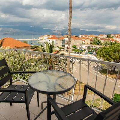 Villa Aria pogled iz sobe
