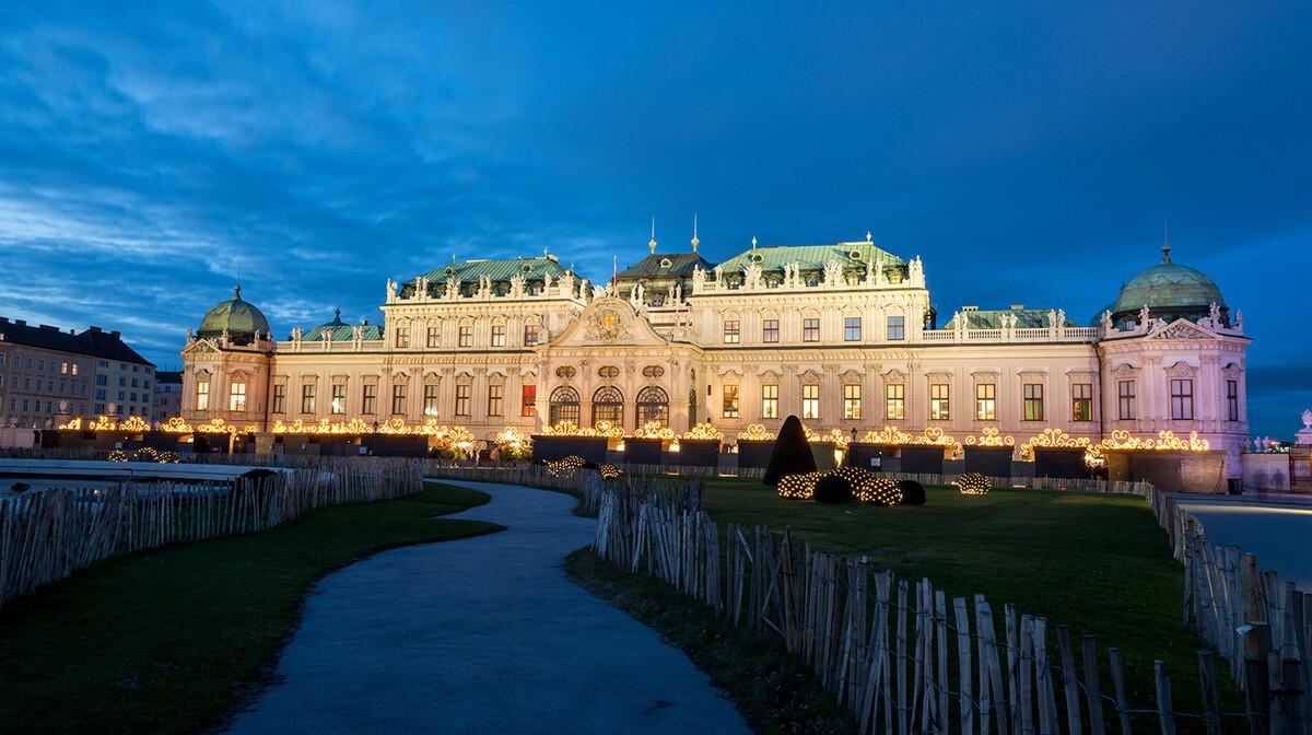Palača Belvedere, Advent u Beču, garantirani polazak