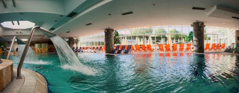 Moravske toplice, Hotel Livada bazen