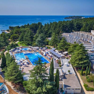 Poreč, Istra, Hotel Valamar Crystal, ljetovanje