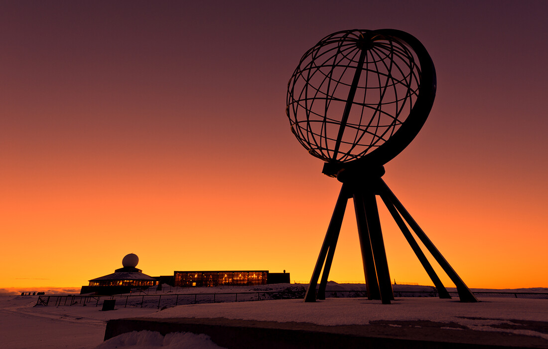 Putovanje na Nordkap-najsjevernija točka Europe