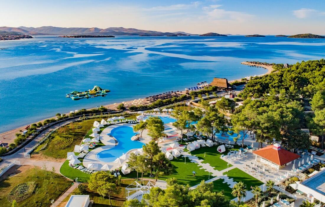 Solaris, Hotel Andrija, plaža