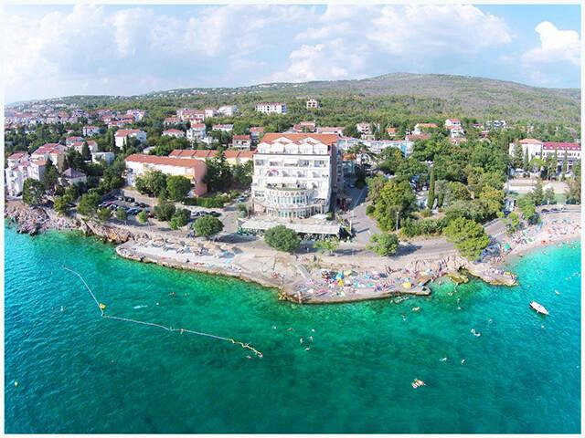 Selce, Hotel Marina, panorama