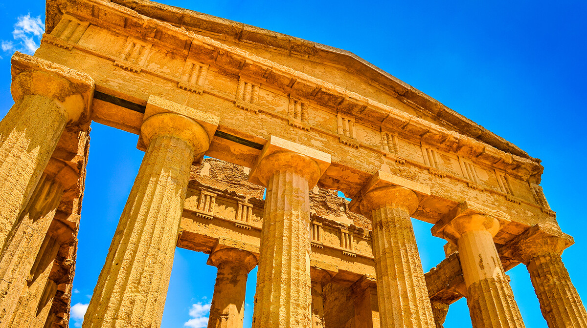 Agrigento- Dolina hramova , putovanje italija sicilija