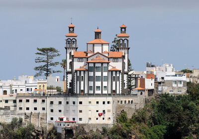 Grand Canary -Church in Moya