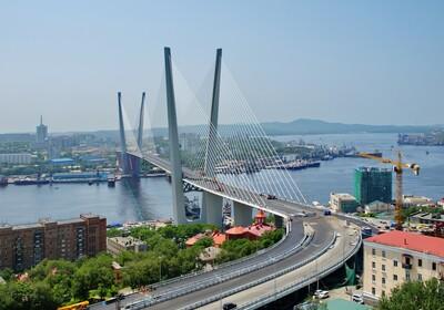 Most u Vladivostoku, putovanje u Rusiju, daleka putovanja