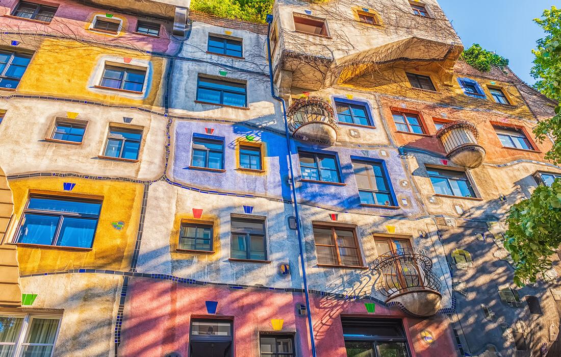 Hundertwasserova kuća u Beču, putovanje u Beč, Advent u Beču, Nova godina u Beču, mondo travel