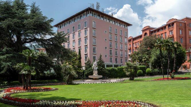 Hrvatska, ljeto, Opatija, hotel Milenij, villa