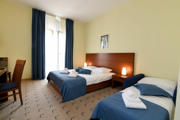 Lovran, Hotel Lovran, trokrevetna soba, morska strana