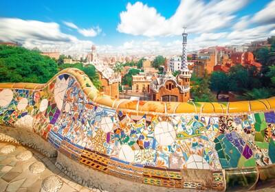 Park Guell, putovanje u Barcelonu, krstarenja mediteranom