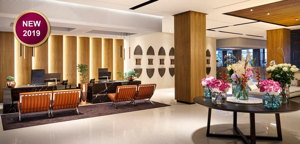 Lobby bar u hotel Ambasador u Opatiji.