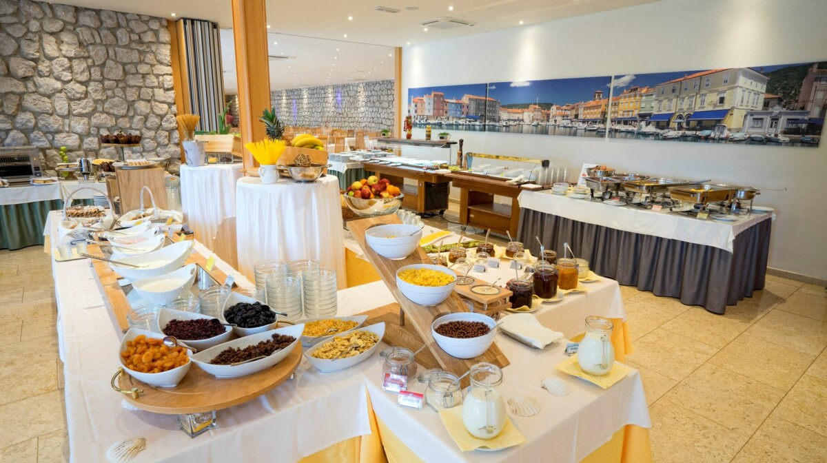 Cres, Hotel Kimen, restoran