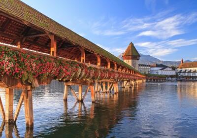 Most u Luzernu, putovanje Švicarka, autobusna putovanja, mondo travel