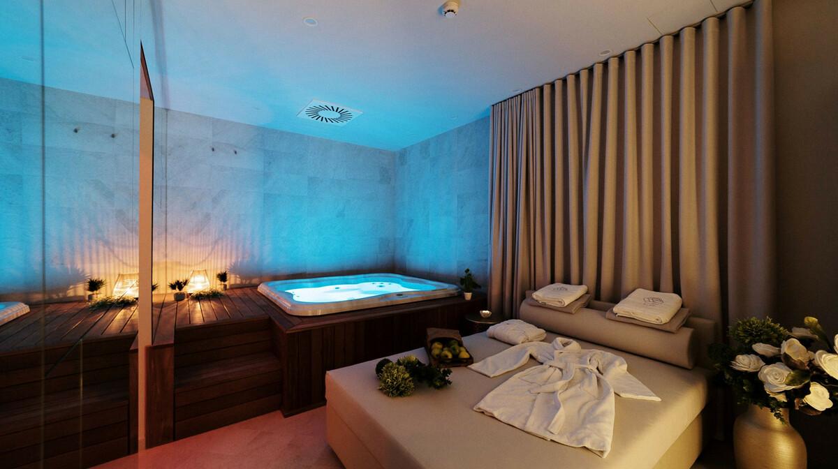 Skijanje i wellness u Sloveniji, Bled, Hotel Rose, whirpool