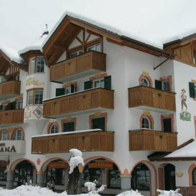 Skijanje u Italiji, Andalo, Apartmani Meridiana