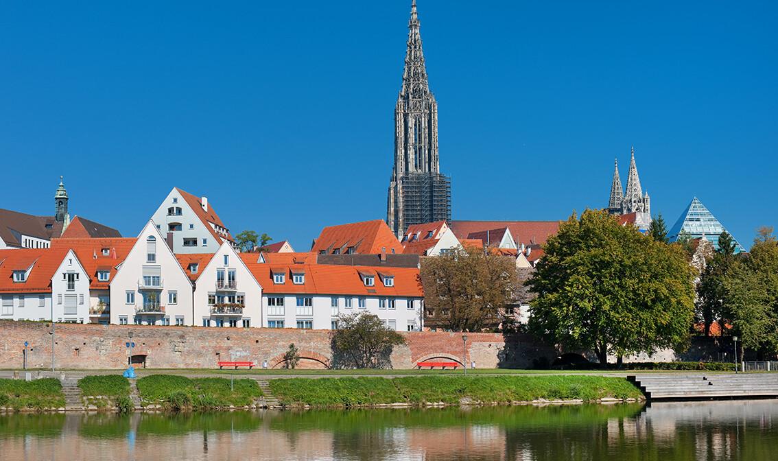 Ulm, Njemačka, putovanje autobusom