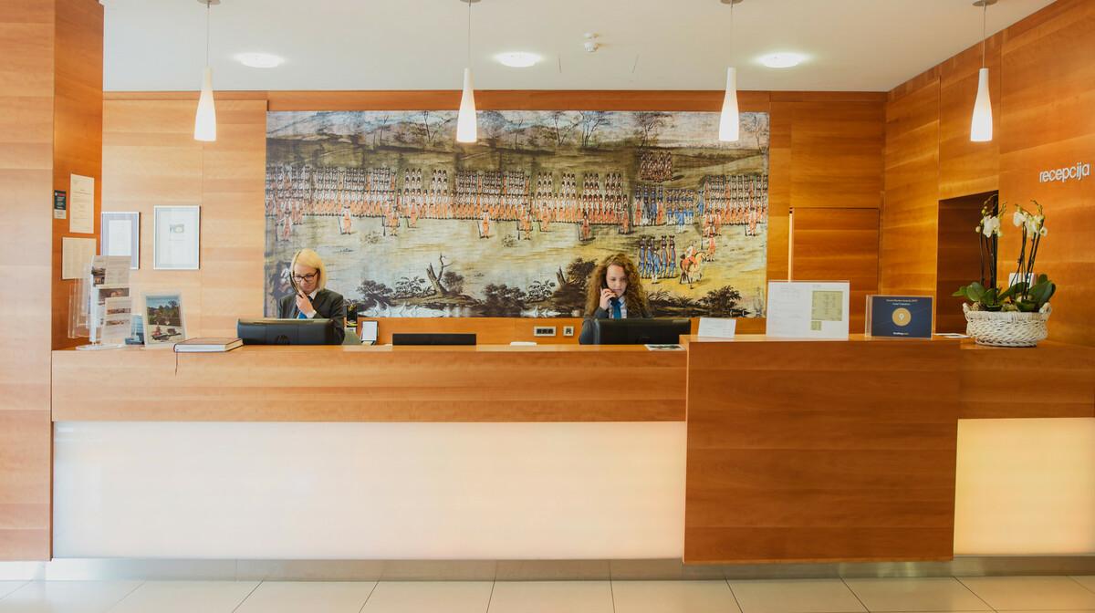 Hotel Trakošćan, recepcija