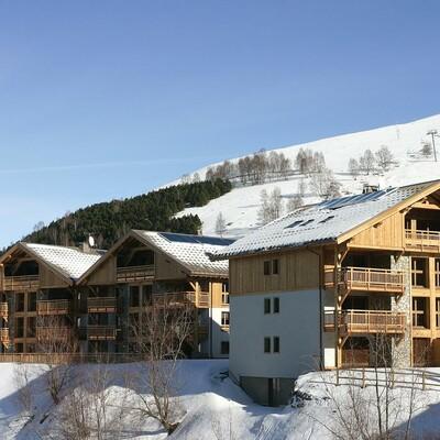 Skijanje u Francuskoj, Les 2 Alpes. Résidence Goleon Val Ecrins, izvana.