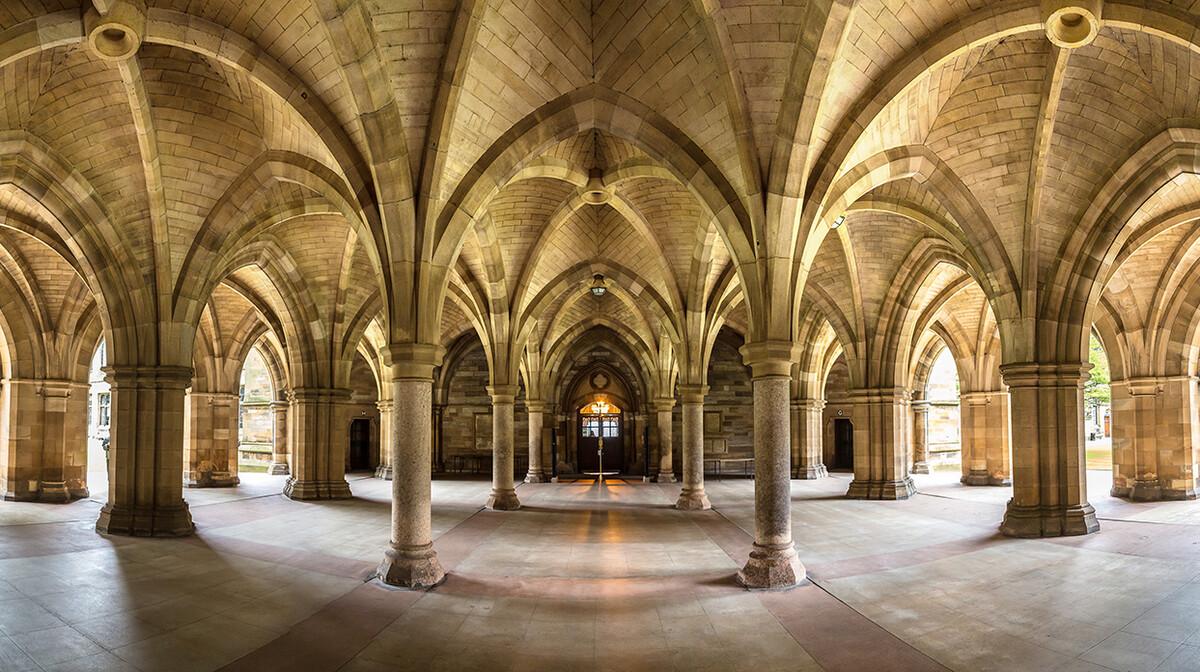 Sveučilište u Glasgowu, putovanje Škotska, putovanje avionom
