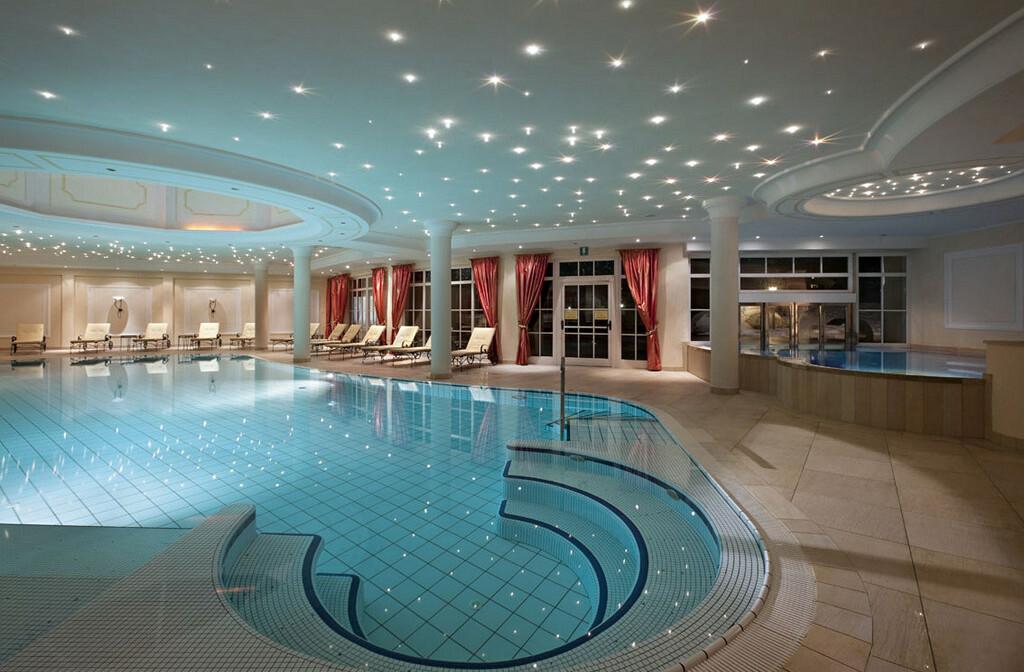 Skijanje u Italiji, Corvara, Hotel Greif, bazen