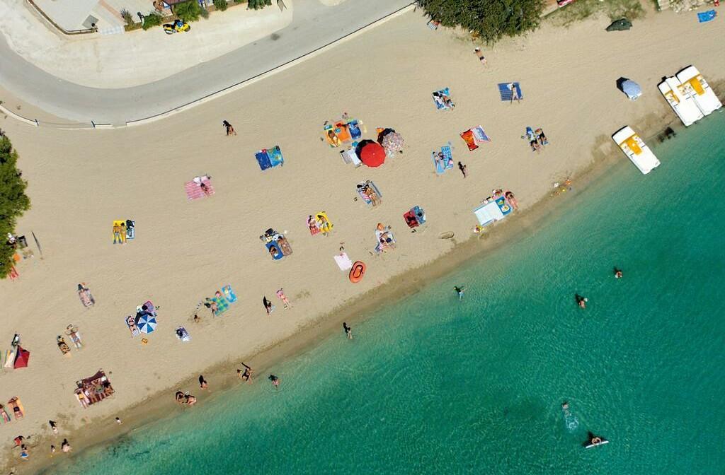 Medulin, Hotel Arena Holiday, plaža