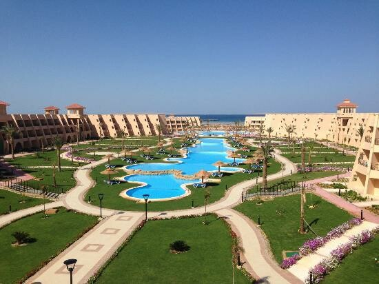 Hurghada ljeto, Hotel Jasmine Palace, panorama