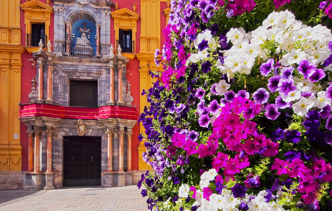 Crkva u Malagi, putovanje u Andaluziju