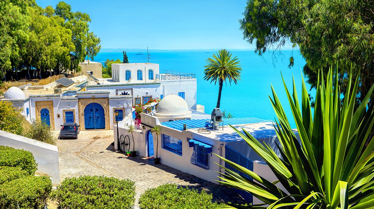 Sidi Bou Said grad, Tunis, ljetovanje Mediteran, direktnim letom, garantirani polasci
