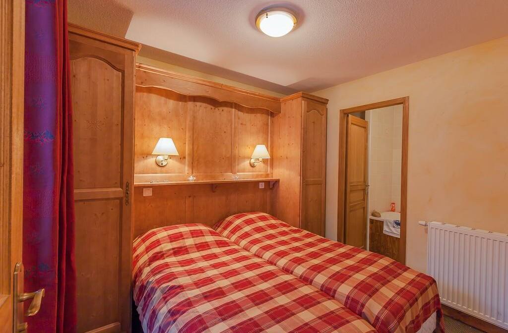 Skijanje u Francuskoj, Val Cenis,  Lanslevillard Les Balcons de Val Cenis Village, spavaća soba.