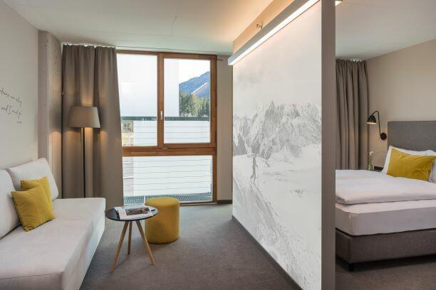 skijanje u Nassfeldu, hotel Franz Ferdinand obiteljska soba