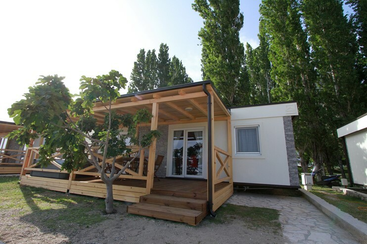 Omiš, Kamp Galeb, sunshine premium mobilna kucica na plazi
