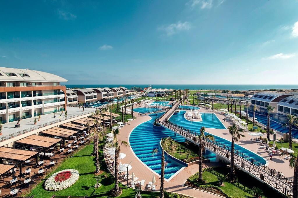Ljetovanje Antalya, Side, Hotel Club Magic Life Jacaranda imperial, panorama bazena