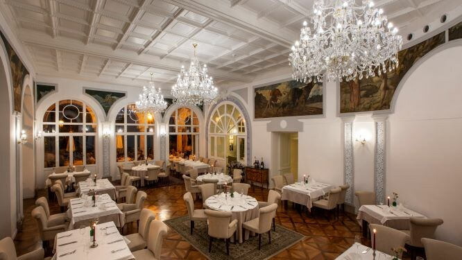 Hrvatska, ljeto, Opatija, hotel Milenij, restoran