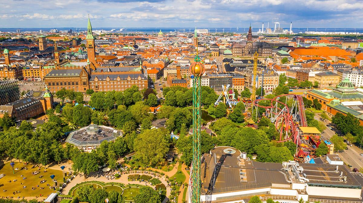 Kopenhagen, prekrasna panorama