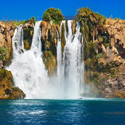 Turska, Antalya, vodopad Duden, ljetovanje na mediteranu, putovanje zrakoplovom, charter letovi