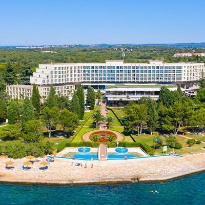 Plava Laguna, Hotel Materada, panorama