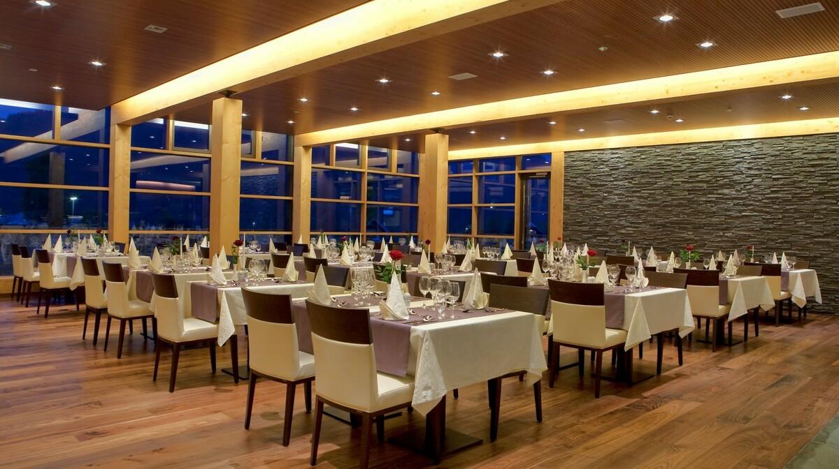 Skijanje i wellness u Sloveniji, Bohinjska Bistrica, Bohinj Eco, restoran u hotelu