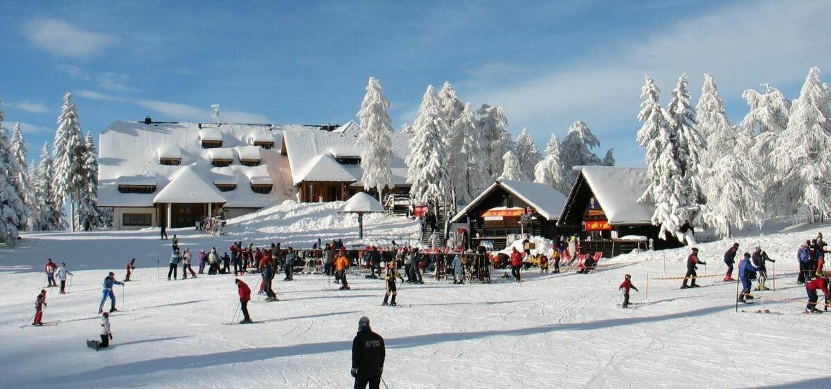 Skijanje Krvavec, skijalište Krvavec, panorama