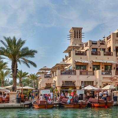 Dubai, Souk Madinat - tržnica u tradicionalnom bliskoistočnom stilu, garantirani polasci,