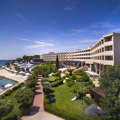 Rovinj, Hotel Istra, izgled hotela