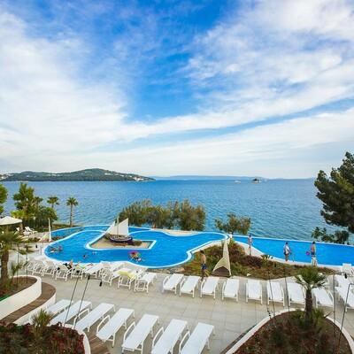 Ljetovanje u Hrvatskoj, odmor, Belvedere Apartmani, bazen uz pogled