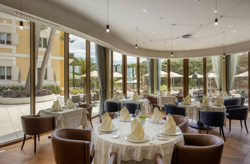 Restoran Boutique hotela Alhambra.