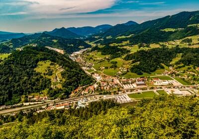 Laško town