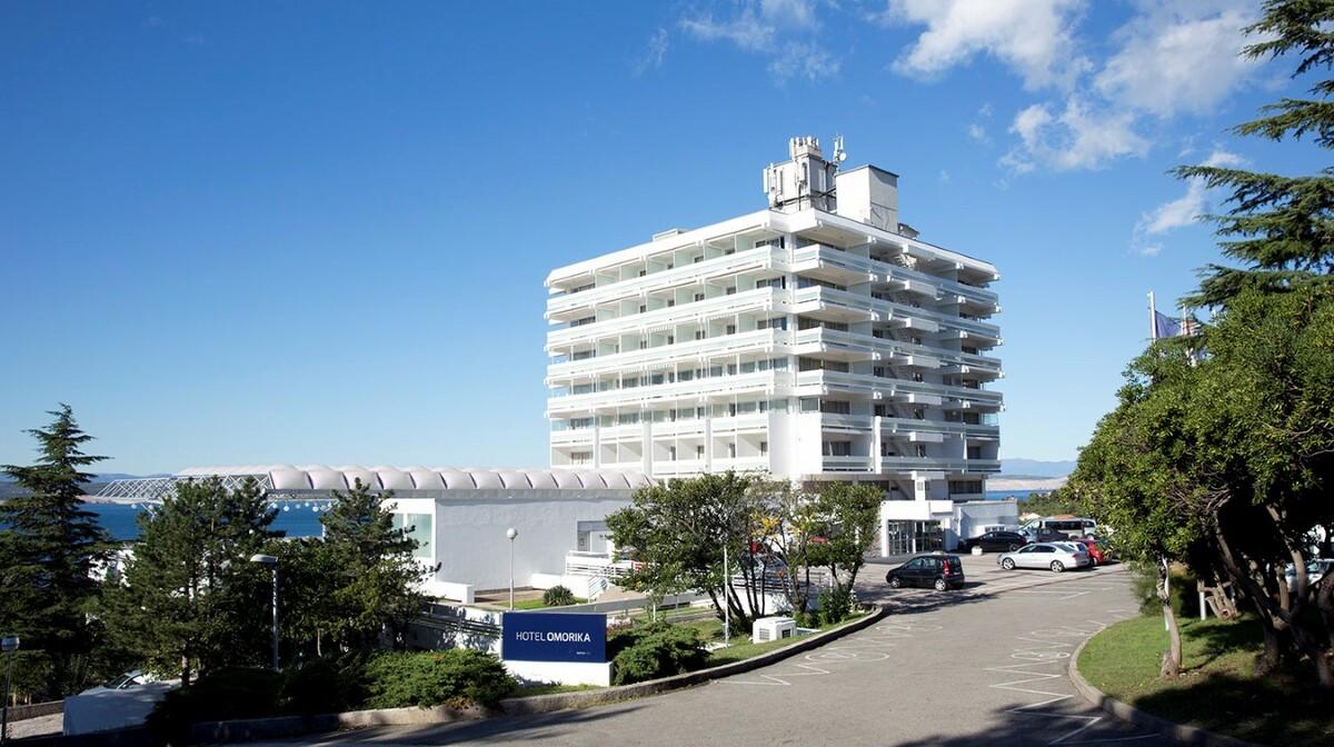 Crikvenica, Hotel Omorika