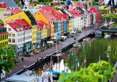 Legoland u Danskoj, putovanje u Dansku