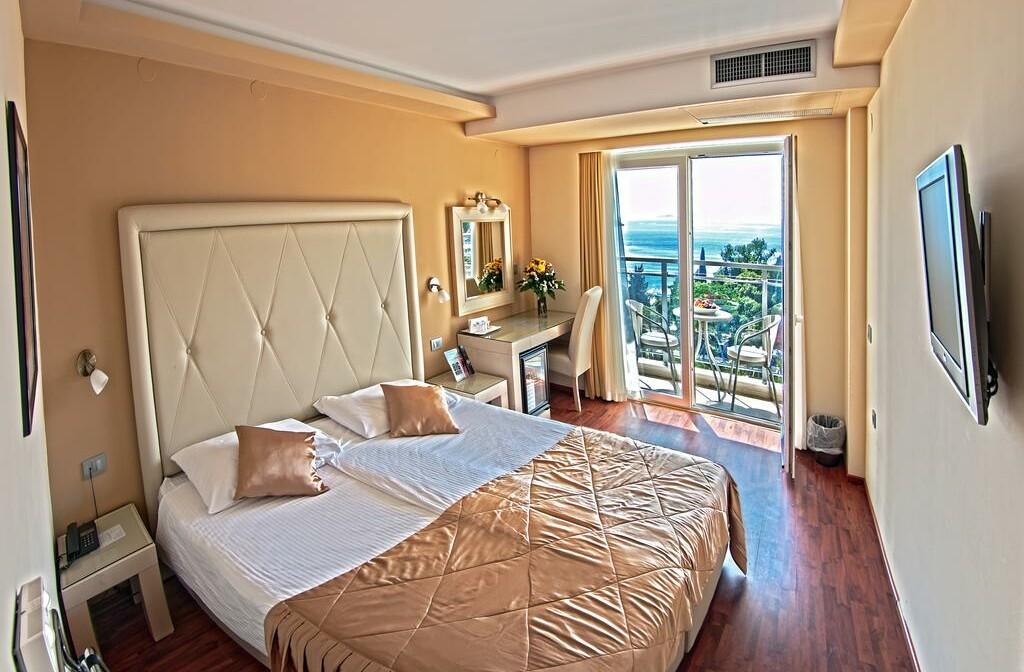 Dubrovnik, Grand Hotel Park, soba sa balkonom, pogled more