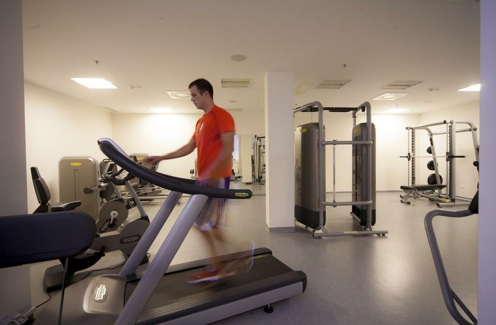 Fitness centar u Vitality hotelu Punta u Velom Lošinju.