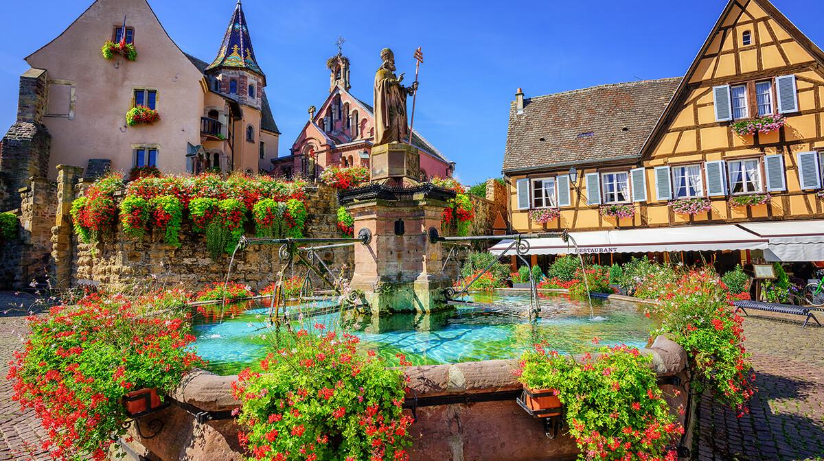 fontana i prekrasno cvijeće, europska putovanja, garantirani polazak, Mondo travel